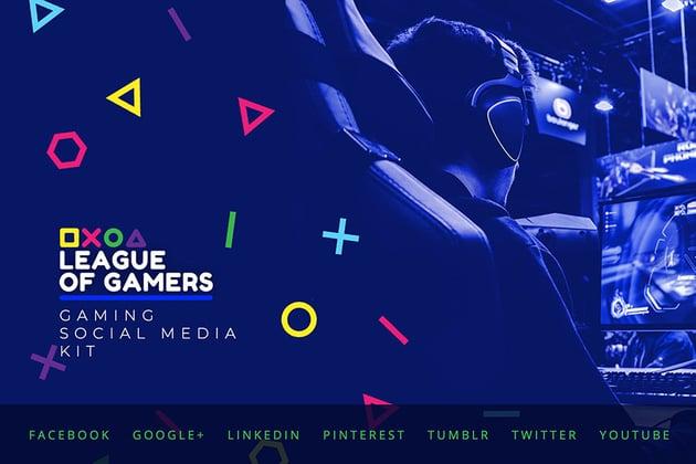 YouTube Channel Banner Template Social Media Kit