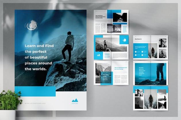 ADVENT Adventure Business Brochure InDesign Template
