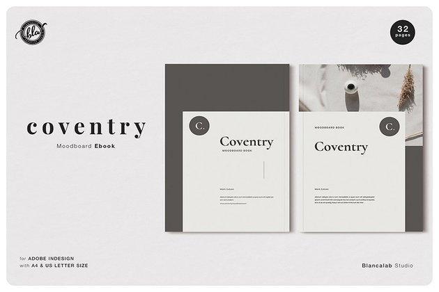 Coventry Moodboard eBook Template Download