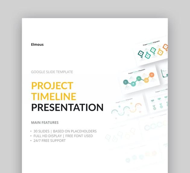 Project Timeline Template Google Slides