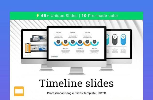 Timeline 2 0 Template for Google Slides