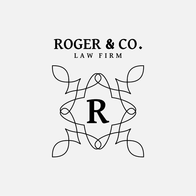 Online Modern Law Firm Logo Maker