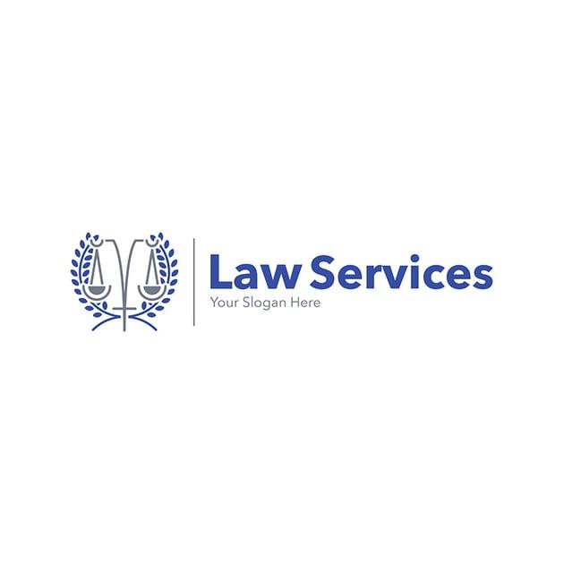 Modern Law Firm Logo Design