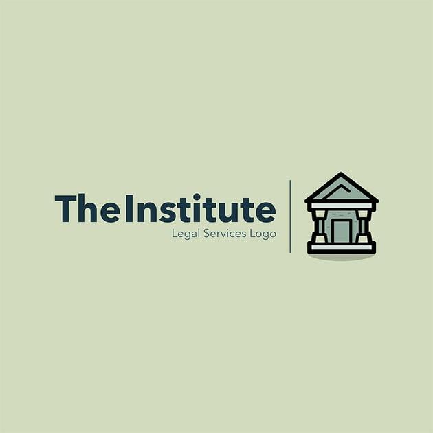 The Institute Legal Services Logo Template Generator