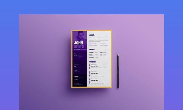 Unique Creative Resume Templates