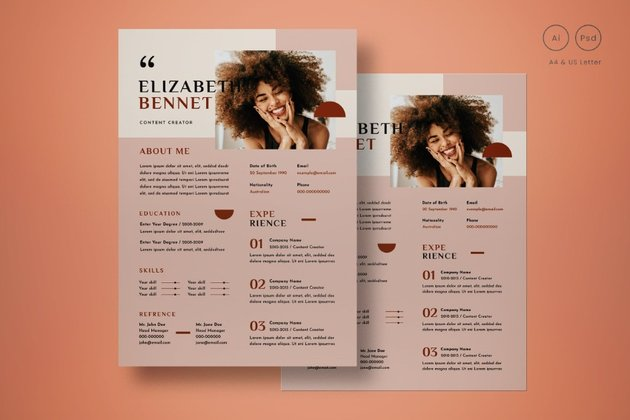 Most Amazing Resume Template