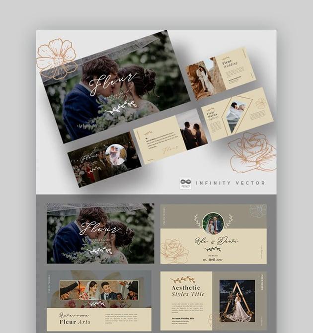 Fleur Wedding Slideshow Ideas