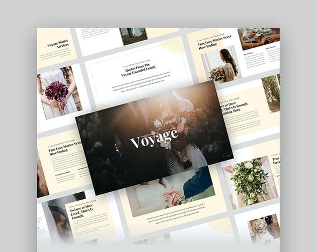 Voyage PowerPoint Slideshow Template