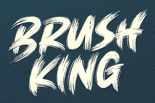 Brush King Brush Font Download