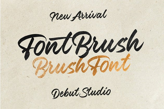 Cursive Font Brush Download