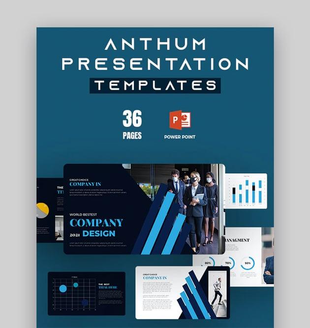 Anthum Elegant Change Management PowerPoint Presentation Template