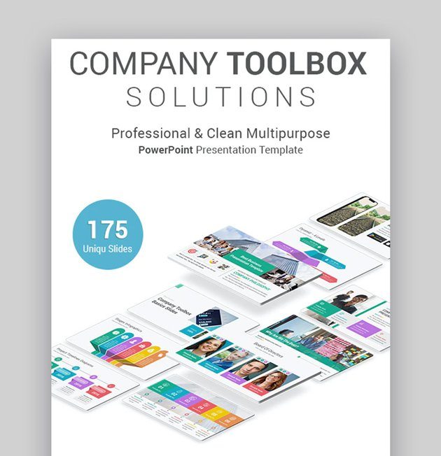 Company Toolbox Change management PowerPoint presentation