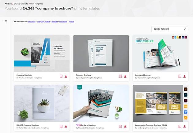 Premium Company Brochure Templates Envato Elements