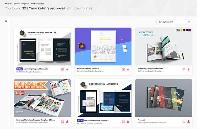 Envato Elements Digital Marketing Proposal Example