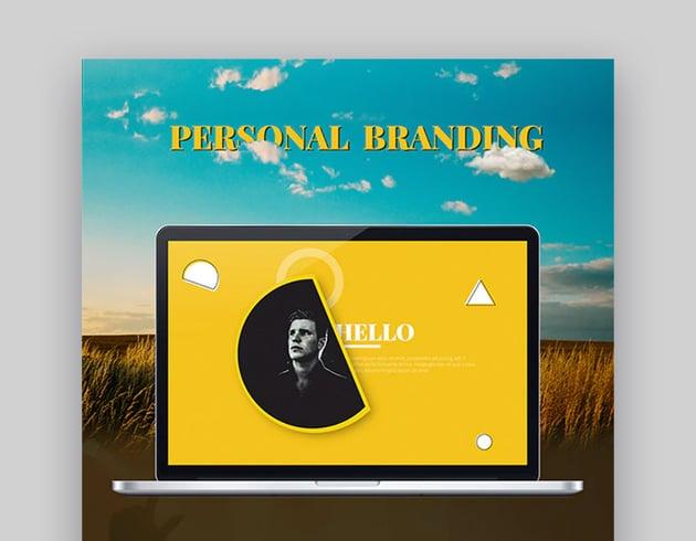 Personal Branding Resume Template Download