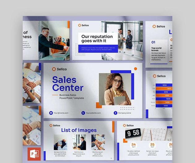 Business Sales Product Presentation PPT Template