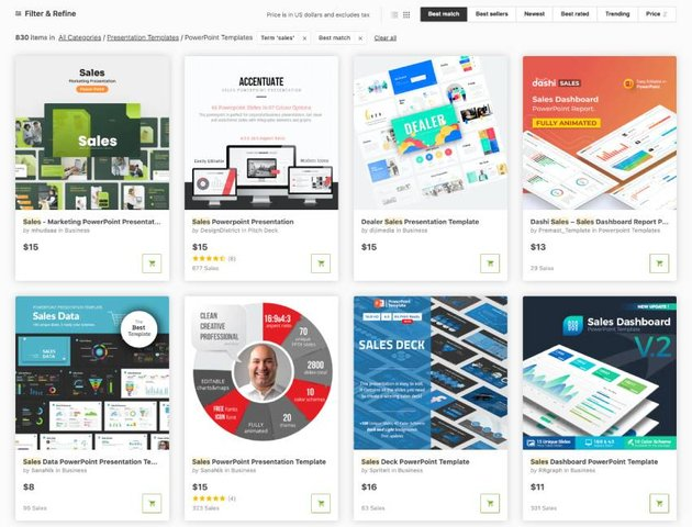 Sales PowerPoint Presentations for GraphicRiver