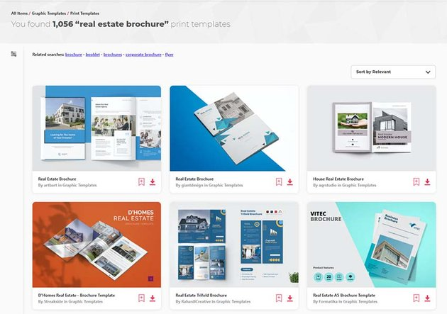 Real Estate Brochure Templates from Envato Elements