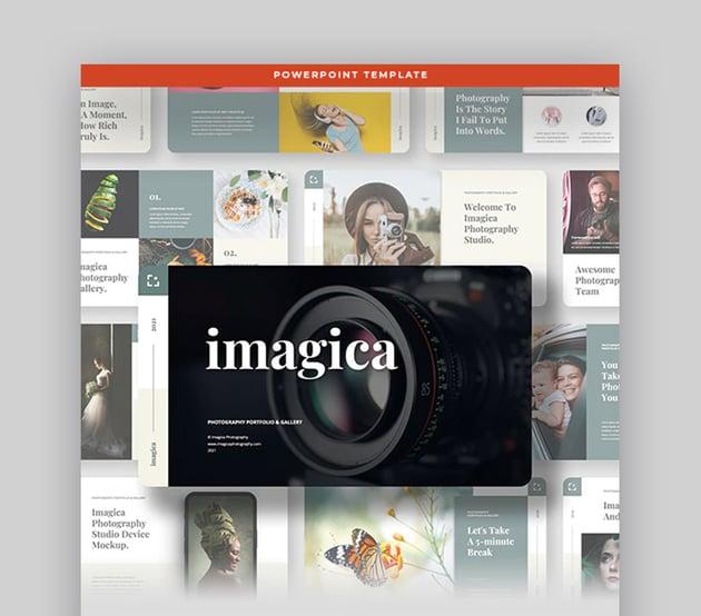 Imagica PowerPoint Templates for Photo Album