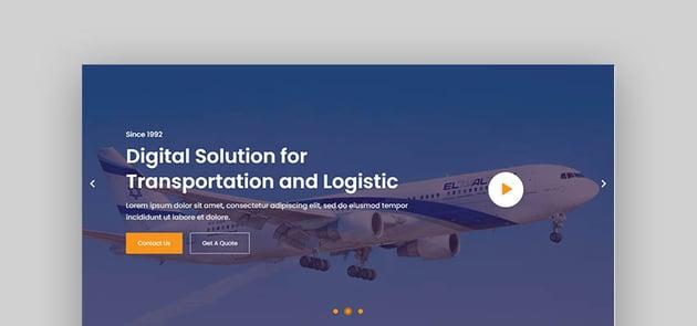Ferry Logistics Transportation WordPress
