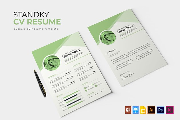 Colorful Artistic Resume Template