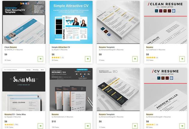 Attractive GraphicRiver Templates