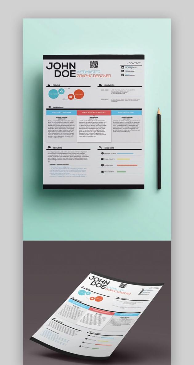 Webmaster Creative Resume