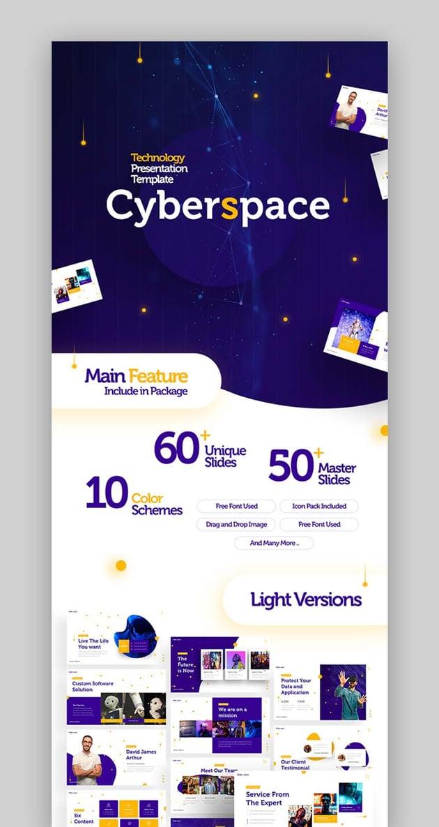 Cyberspace Presentation Template