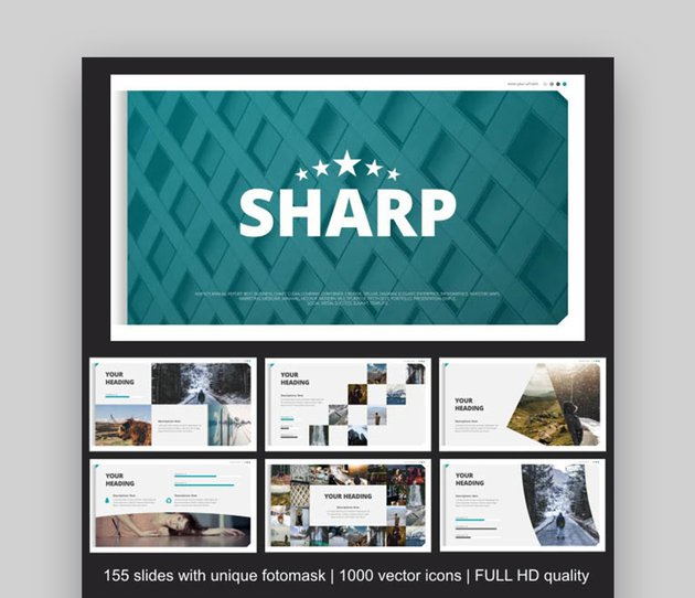 Sharp Business PowerPoint