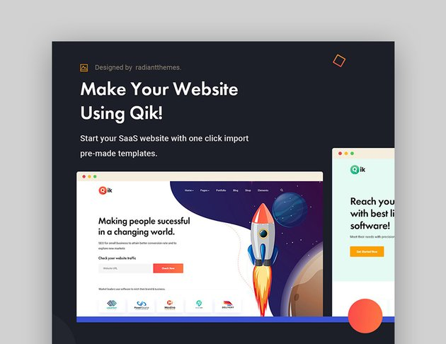 Qik WordPress SaaS