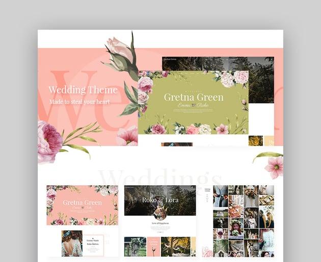 Gretna Green Wedding Planner Template WordPress