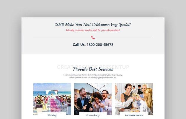 Presentup Best WordPress Theme for Event Planners