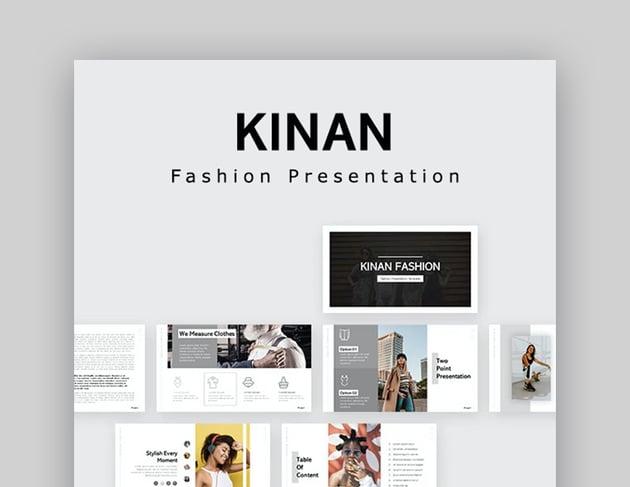 Kinan Fashion PPT