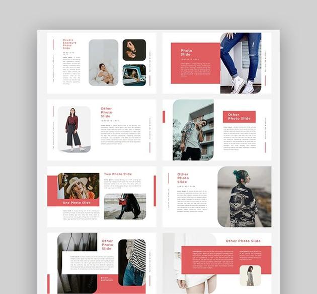 Red Fashion PowerPoint Presentation
