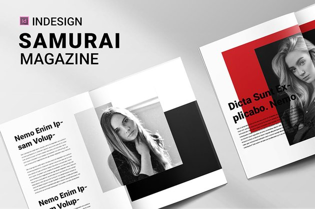 Samurai Magazine Cover Ideas