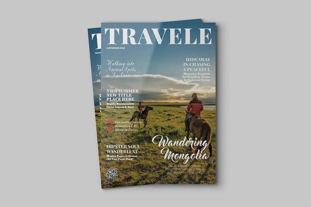 Travele Travel InDesign Magazine Template