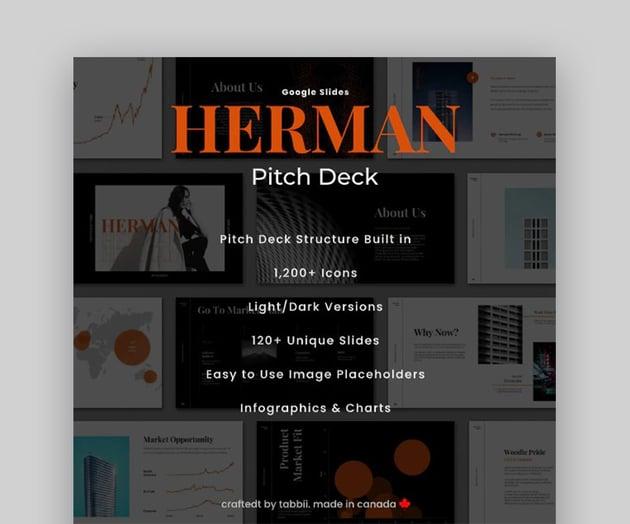 Herman Startup Pitch Deck