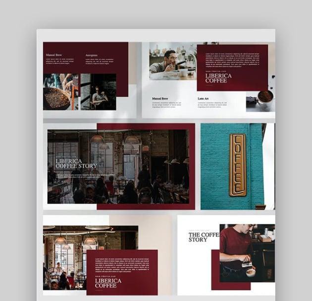 Liberica Coffee PowerPoint Template