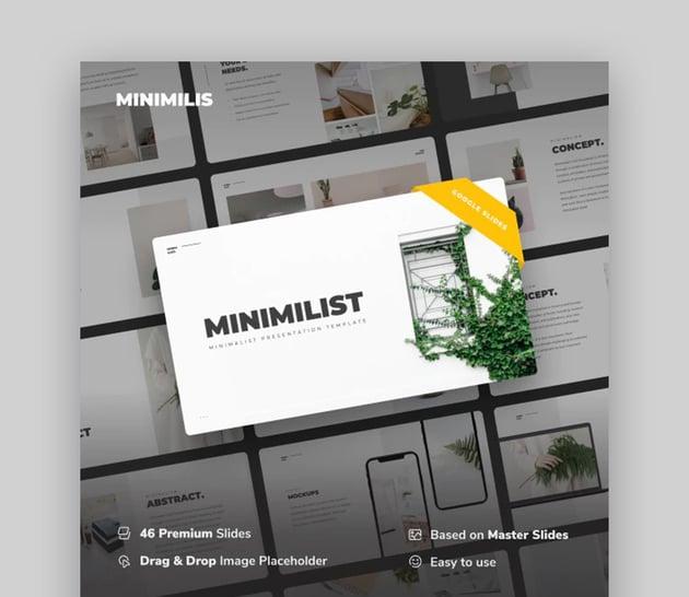Minimiilis Google Slide Presentation Examples
