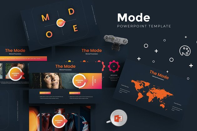 Mode Aesthetic Presentation