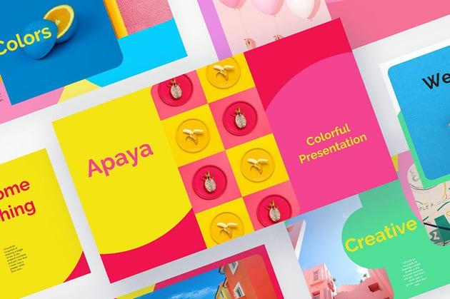 Apaya PowerPoint Design Inspiration