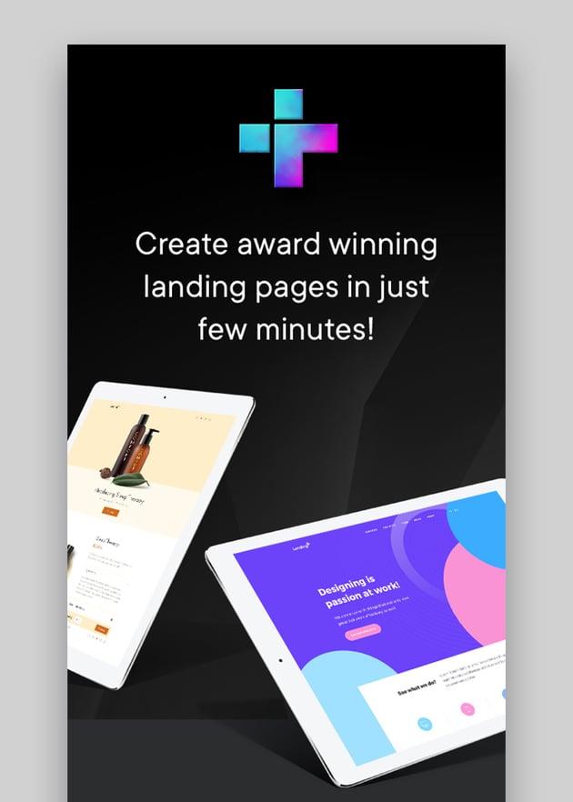 Landder eBook Download Landing Page