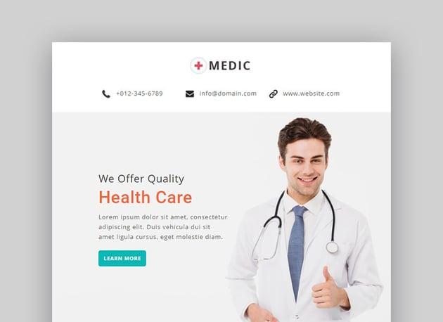 Medic Email Newsletter