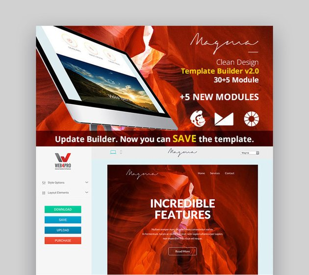 Magma - Responsive Email Template