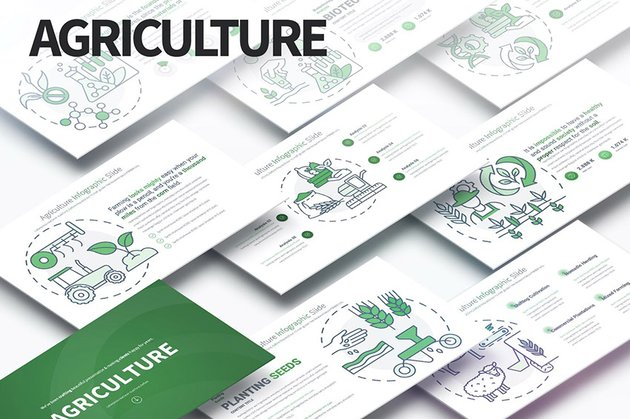Agriculture Eco PPT Template
