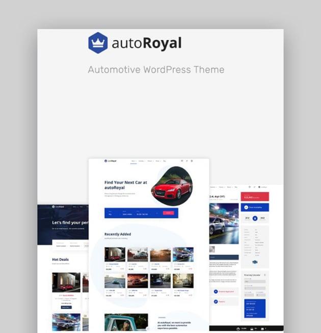 autoRoyal WordPress Car Template