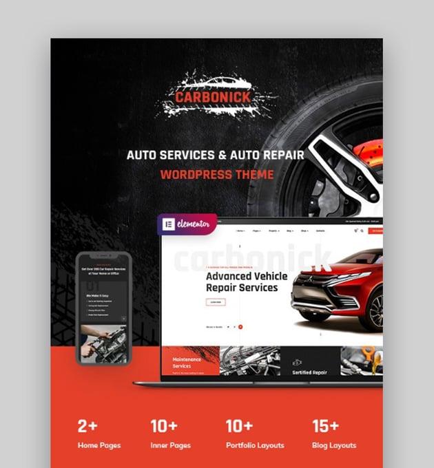 Carbonick WP Automotive Theme
