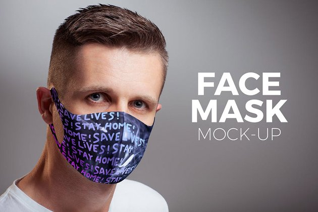 Face Mask Mock-up