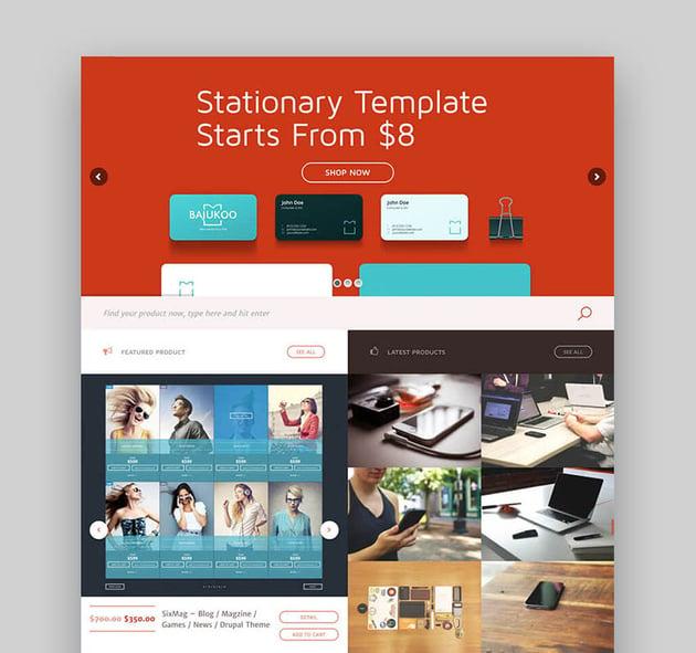 Marketica - Avanzado tema para marketplace con WordPress
