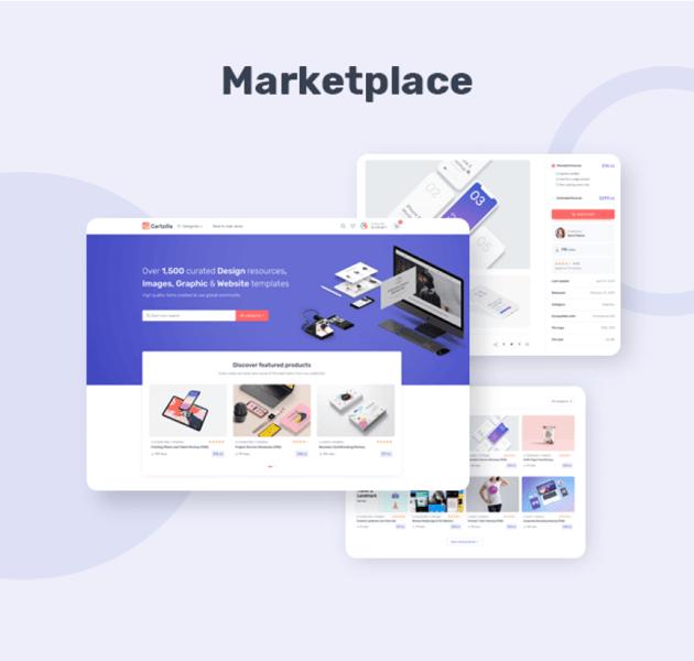 Tema para marketplace con WordPress Cartzilla